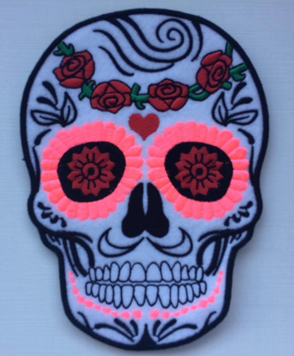 Patch Caveira Mexicana Tumblr Termocolante No Elo7 Atelie Adri