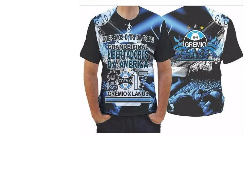 Camiseta Adulto- Grêmio no Elo7  7310adef1e577