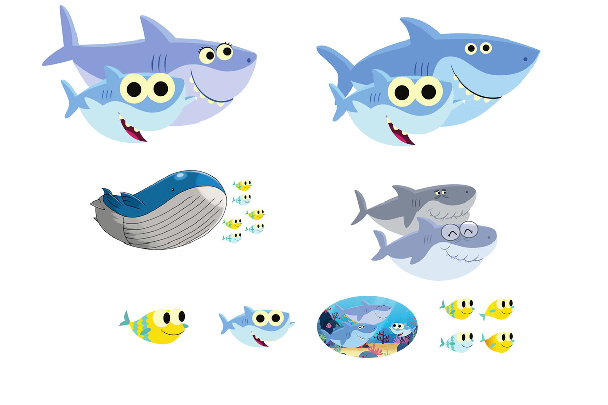 Kit baby shark em mdf no elo7 display happy ad4ab6 zoom kit baby shark em mdf stopboris Choice Image