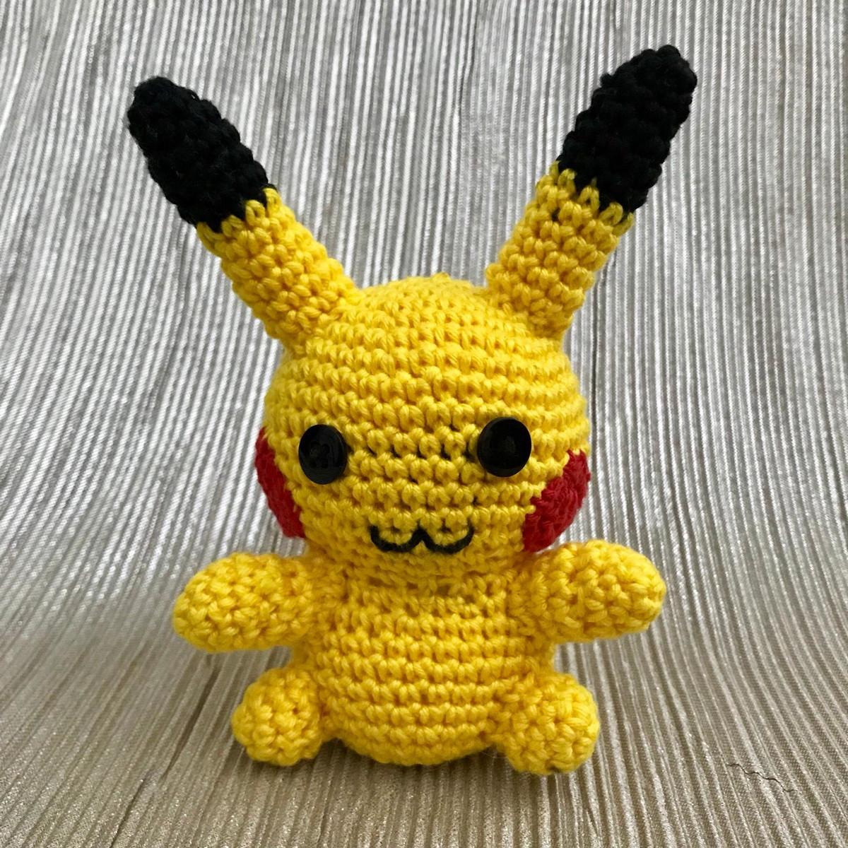 Amigurumi Pikachu no Elo7 | DoForMe - HandCraft Art (AD4B62)