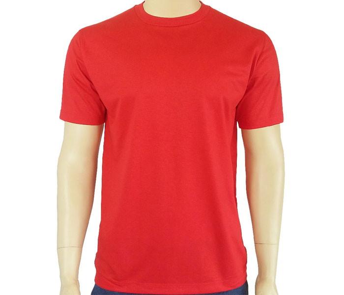 Camiseta Vermelha Lisa no Elo7  ba0a2accb7edf