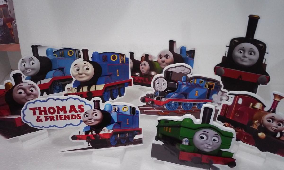 Kit mesa Trem Thomas 9 peças