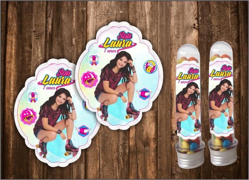 Adesivo Para Tubete Soy Luna No Elo7 Kako Design Personalizados
