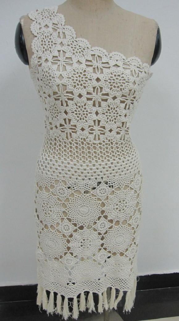 c35632cc5 Vestido Noiva Crochê Adulto no Elo7   Bem_Me_Quer Crochê (ADC6D2)