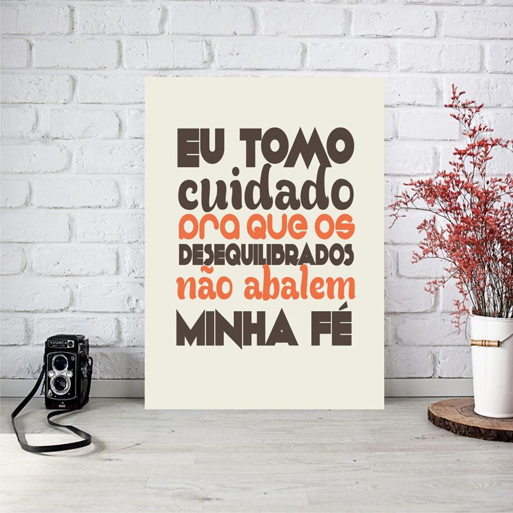 Placa Decorativa 20x30 MDF - Frase no Elo7  17b4416eea386