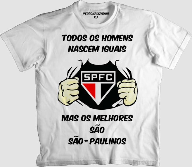 ce7ce6b080 Camisa OS MELHORES SÃO SÃO-PAULINOS no Elo7