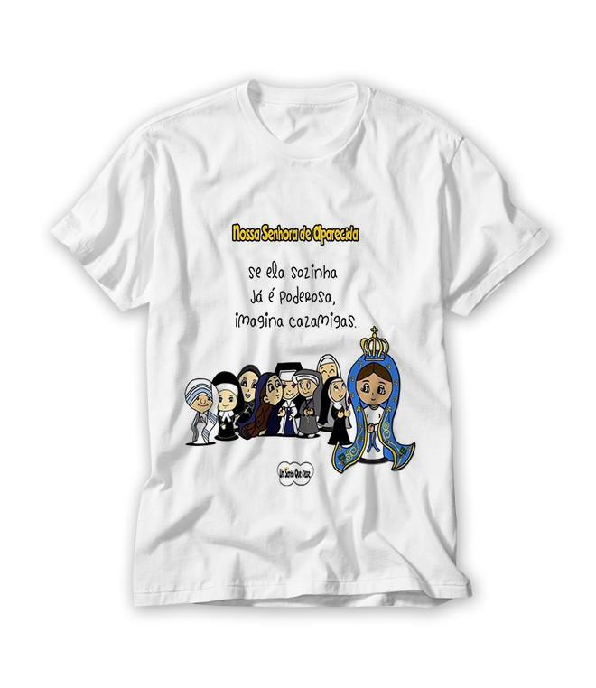 Camiseta Nossa Senhora Aparecida no Elo7 | RA Produtos