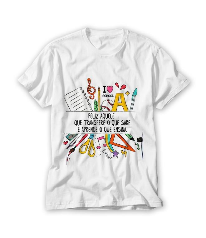 Camiseta Feliz Daquele Que Transfere O Que Sabe No Elo7 Ra Produtos Personalizados Ae4cf4