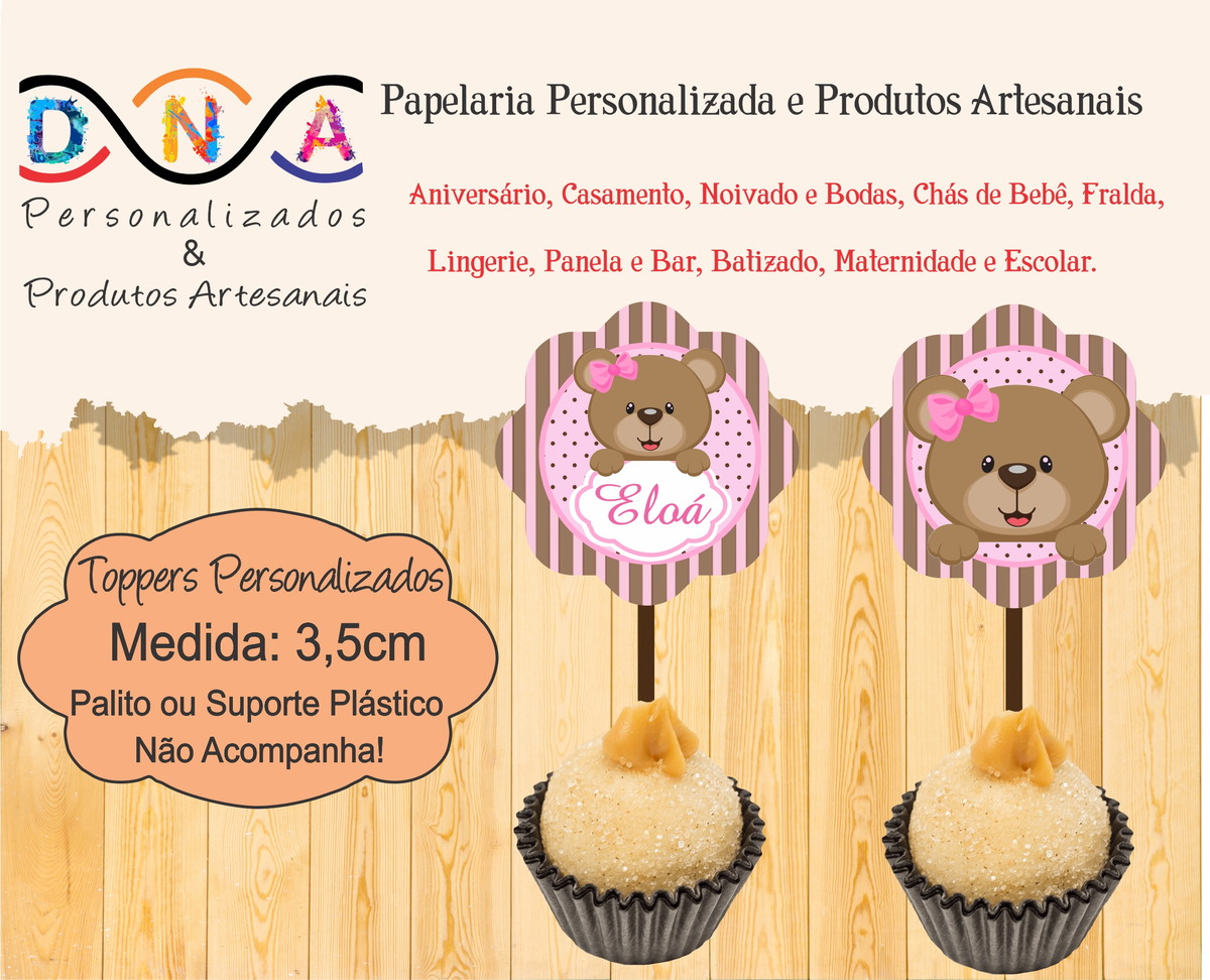 e5bac42b9a4 Zoom · Topper Cupcake
