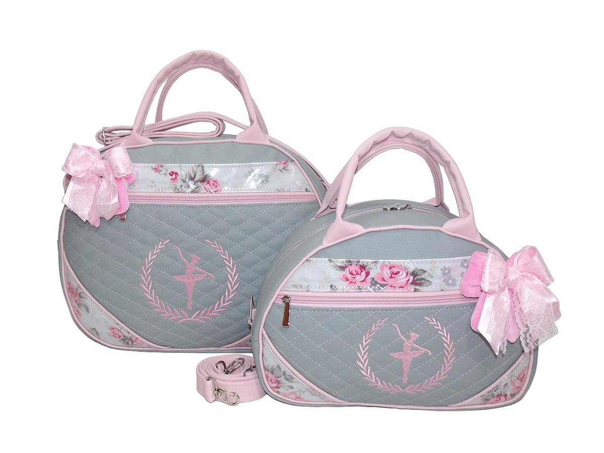 77d730fb8 Kit Bolsa Maternidade Bailarina BAL-0402 - Personalizado no Elo7 ...