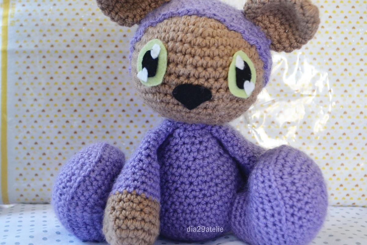 Ursinho Teddy de pijama (com imagens) | Ursinho teddy, Urso ... | 800x1200