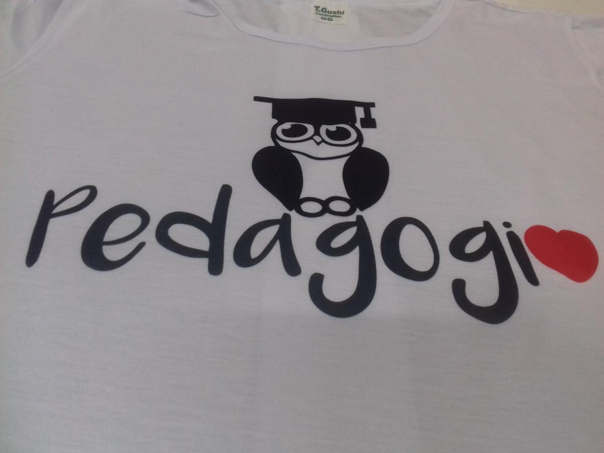 Camiseta Pedagogia no Elo7  5984cda391a