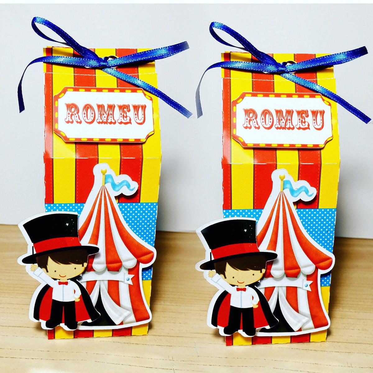 Caixa Milk Leite 3d Tema Circo No Elo7 Dona Papier Aef57e