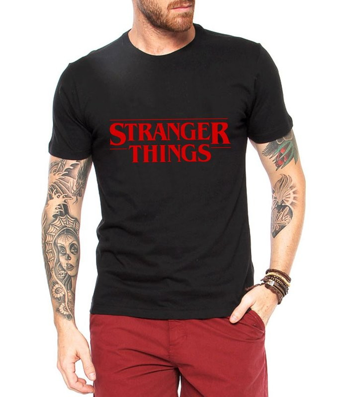 Camiseta Personalizada Stranger Things no Elo7  ab748aa58f7