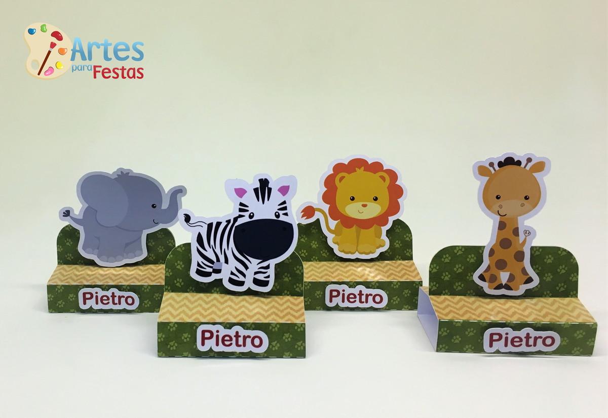 Porta Bis Duplo Safari No Elo7 Artes Para Festas Infantis Af714e
