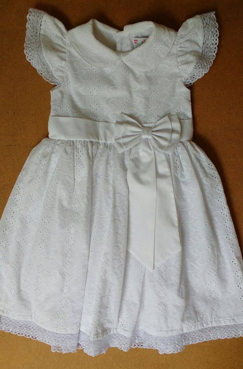ae0fac21a Vestido Branco de Laise no Elo7 | Fabrincando (AF92AB)