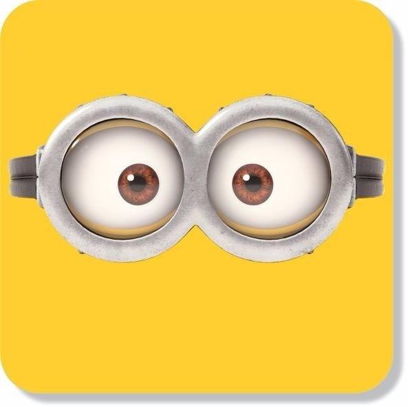 Adesivo Parede Decorativo Oculos Minions Olhos Tam Grande No Elo7