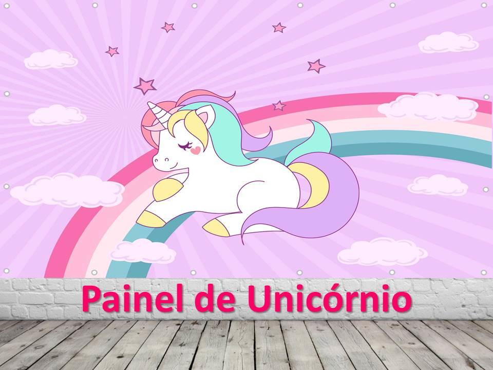 Painel De Festa Unicórnio