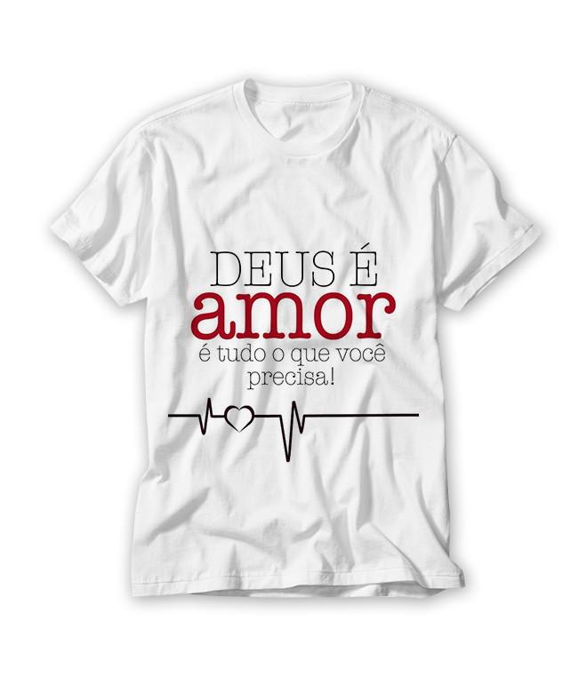 e78d614339 Camiseta Deus é Amor no Elo7