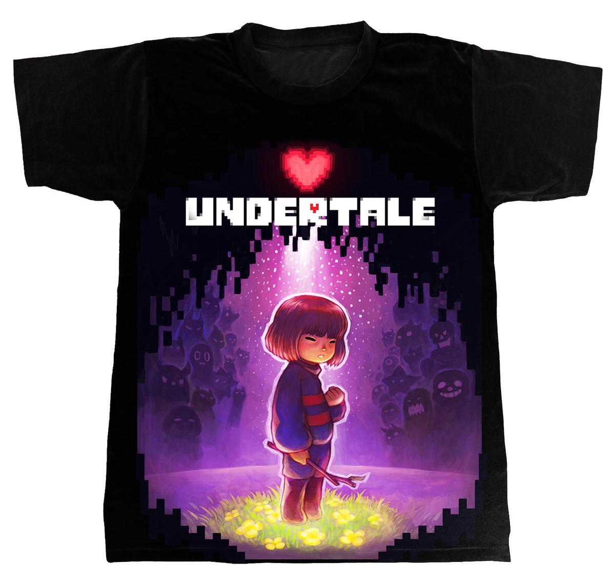 Camiseta - Undertale - Frisk