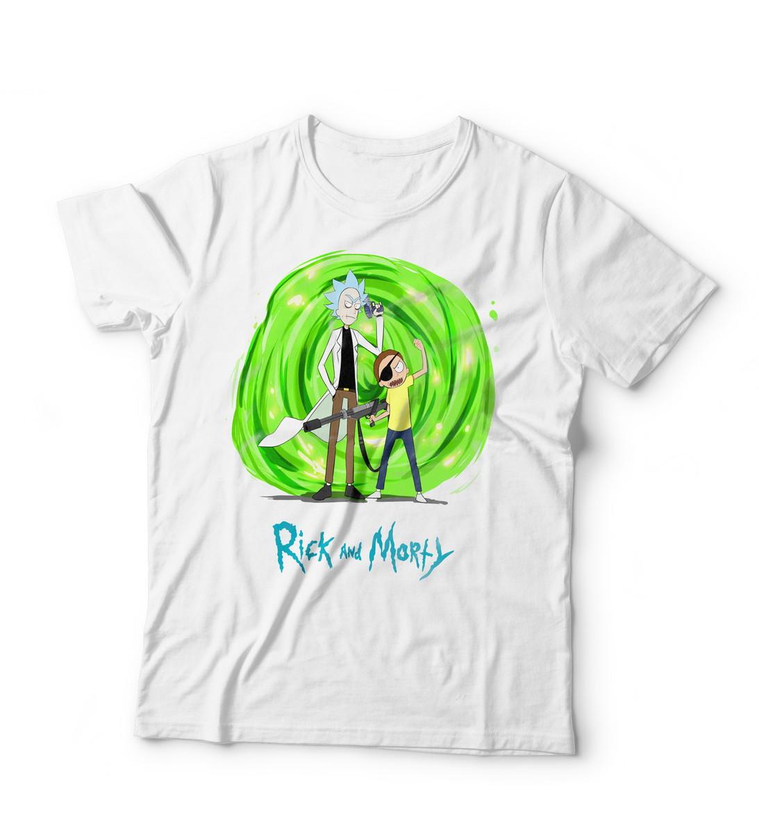 37aefb947 Camiseta Rick and Morty III no Elo7