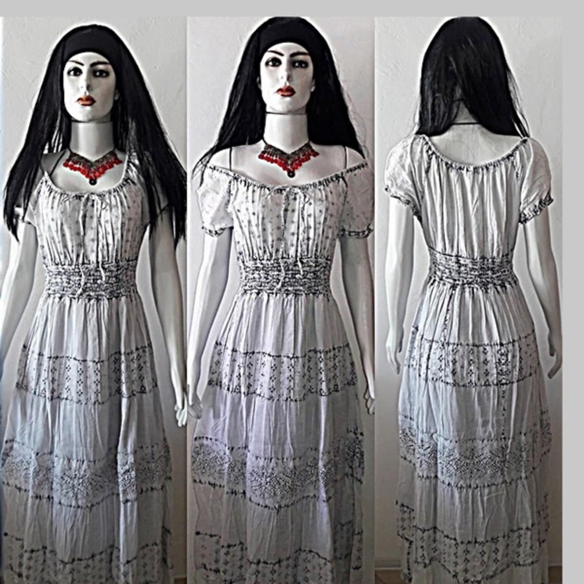 8932d6ff9 vestido longo lese manga ciganinha no Elo7 | Belíssima Moda Criativa ...