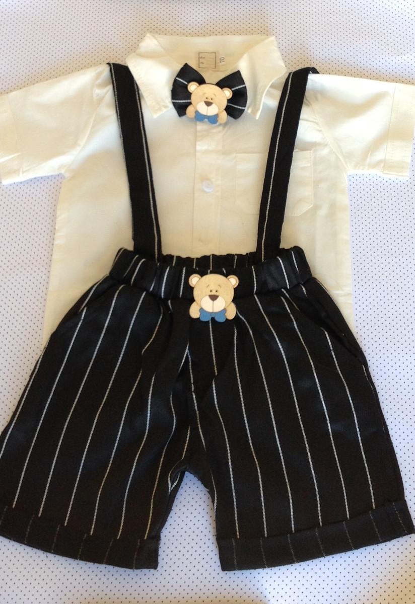 efed5ca779 Terno  roupa social bebê 3 a 6 meses em promoção no Elo7