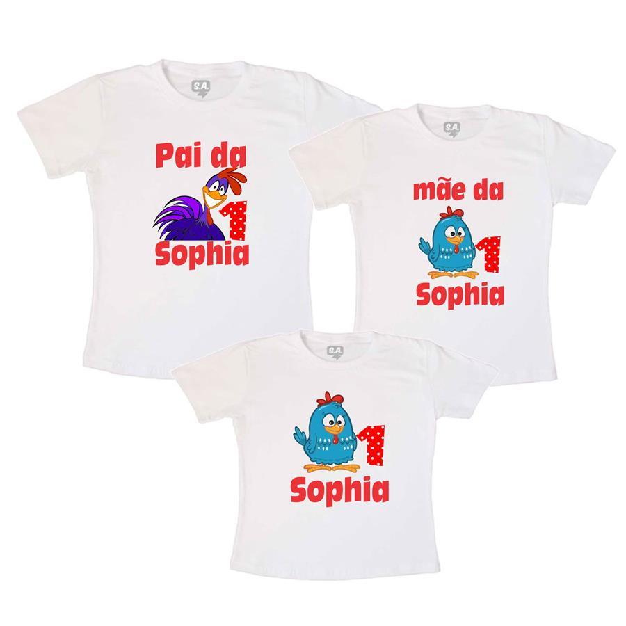 kit aniversario 3 camisas diversos temas personalizado no Elo7  fe4ad3600ea