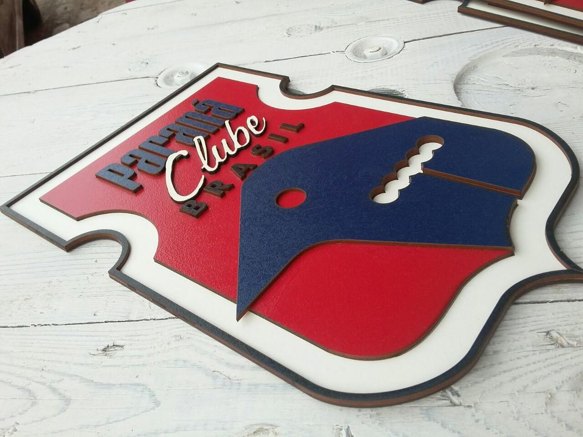 Placa Escudo do Paraná Clube M no Elo7  1b5f7603e4700