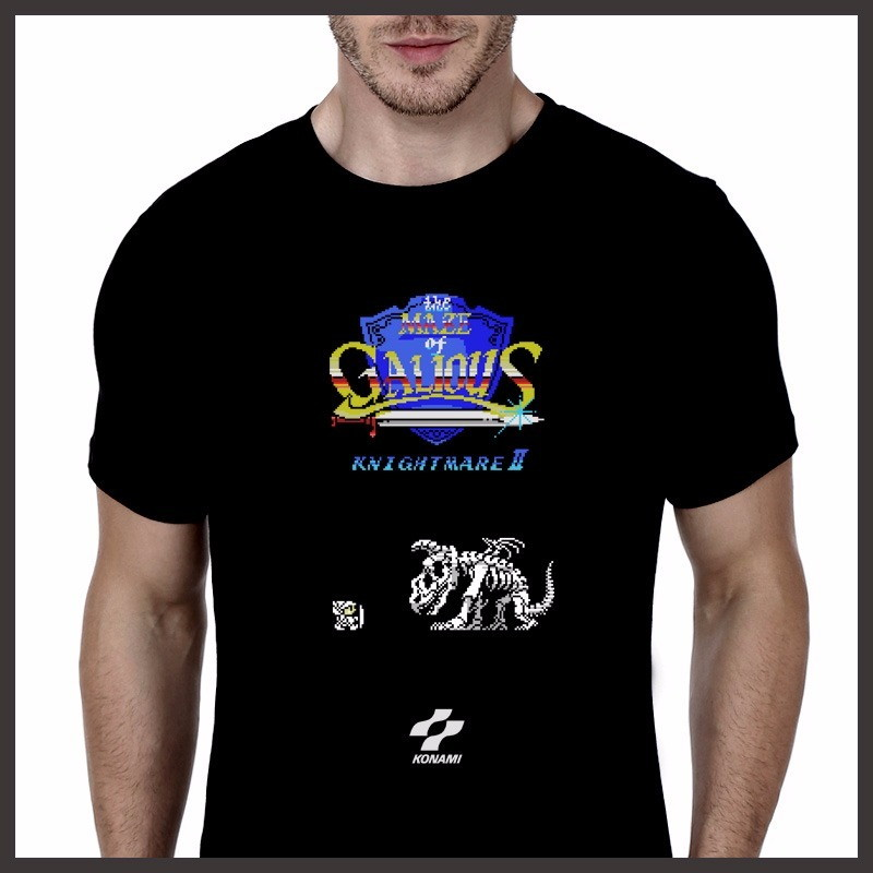 Camiseta Geek MSX The Maze Of Galious no Elo7  e08e7eb7b8ccb