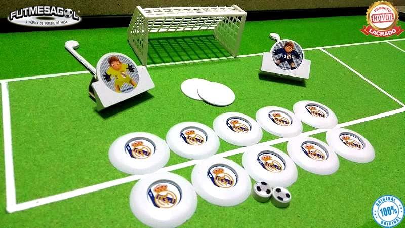 08677bd54e 4 Jogos Futebol De Botão Barcelona Real Atl. Madrid Valencia no Elo7 ...