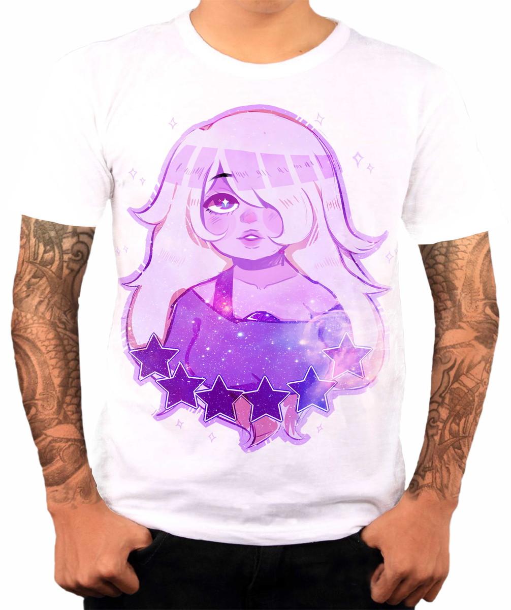 Camiseta Personalizada Steven Universo Ametista Desenho 6