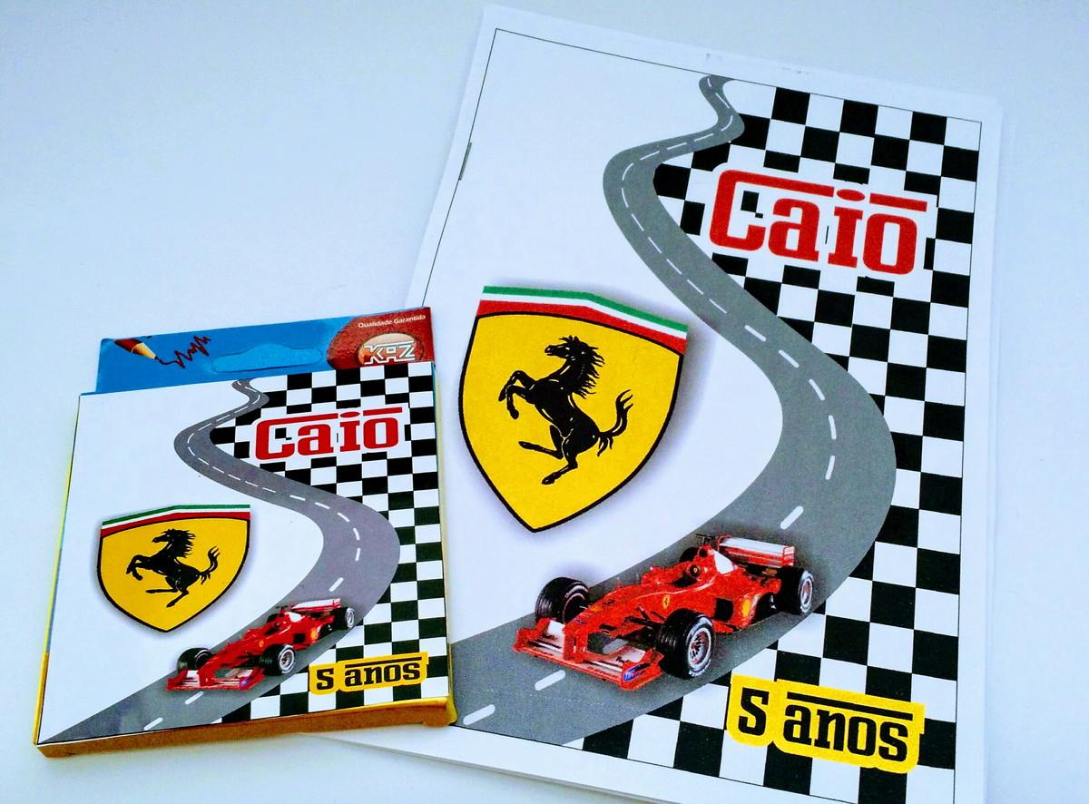 08ac6b69245 Kit Desenho Ferrari no Elo7