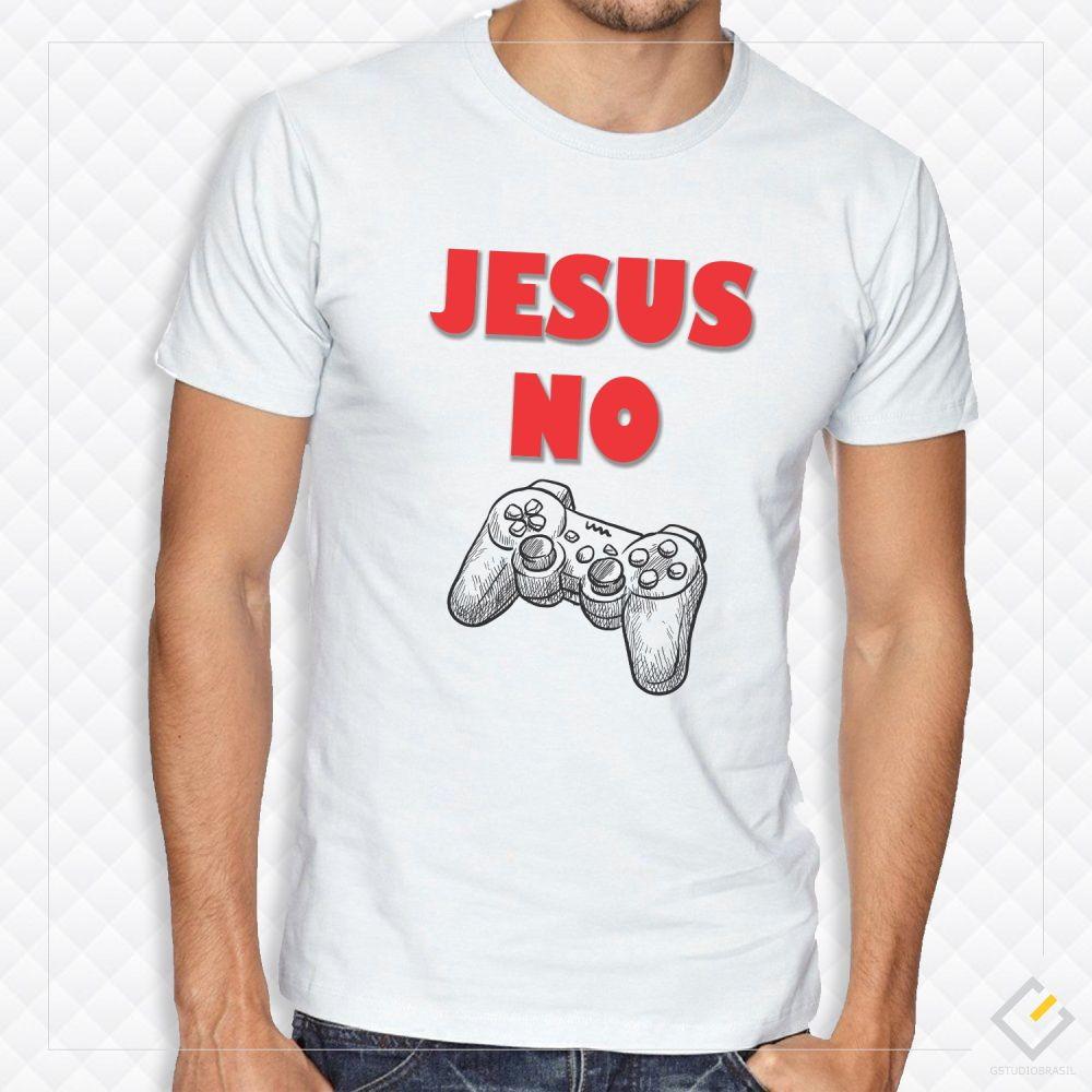 Camiseta branca masculina personalizada no Elo7  da5996cee18