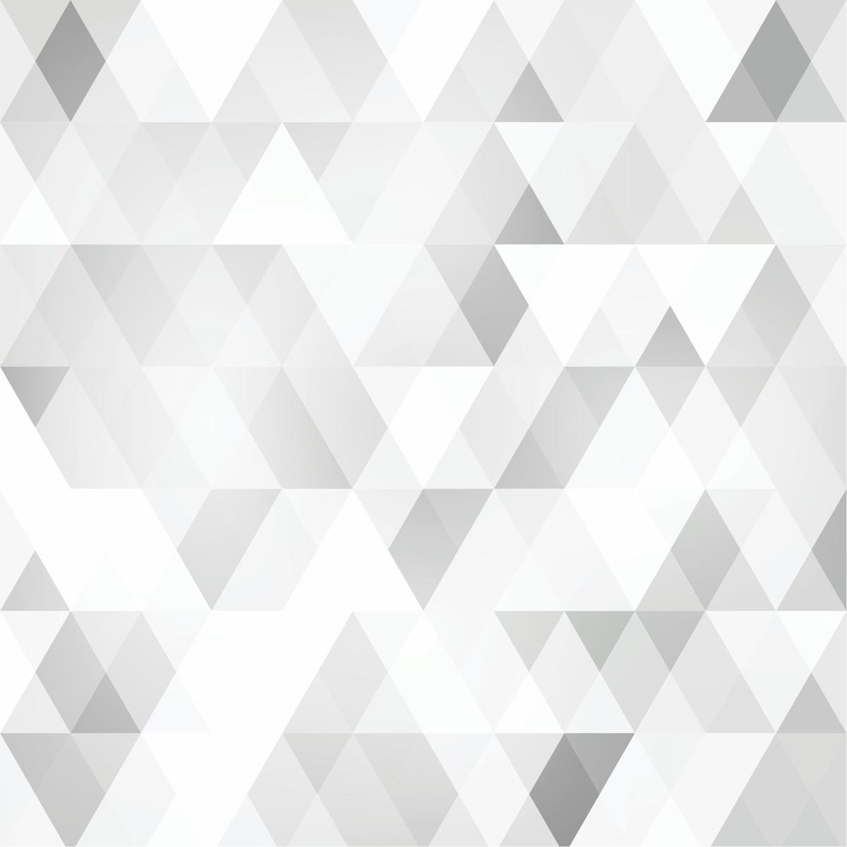 7ad3f3e95 Adesivo Papel de Parede - Geométrico Cinza Prata ESCOLHA COR no Elo7 ...