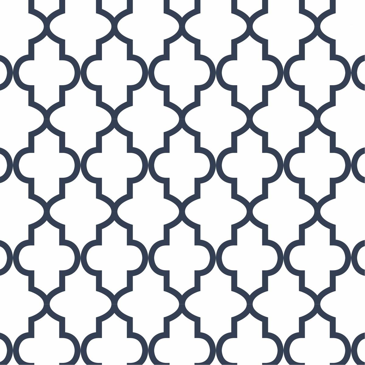 Adesivo Papel De Parede Geometrico Azul Branco Escolha Cor