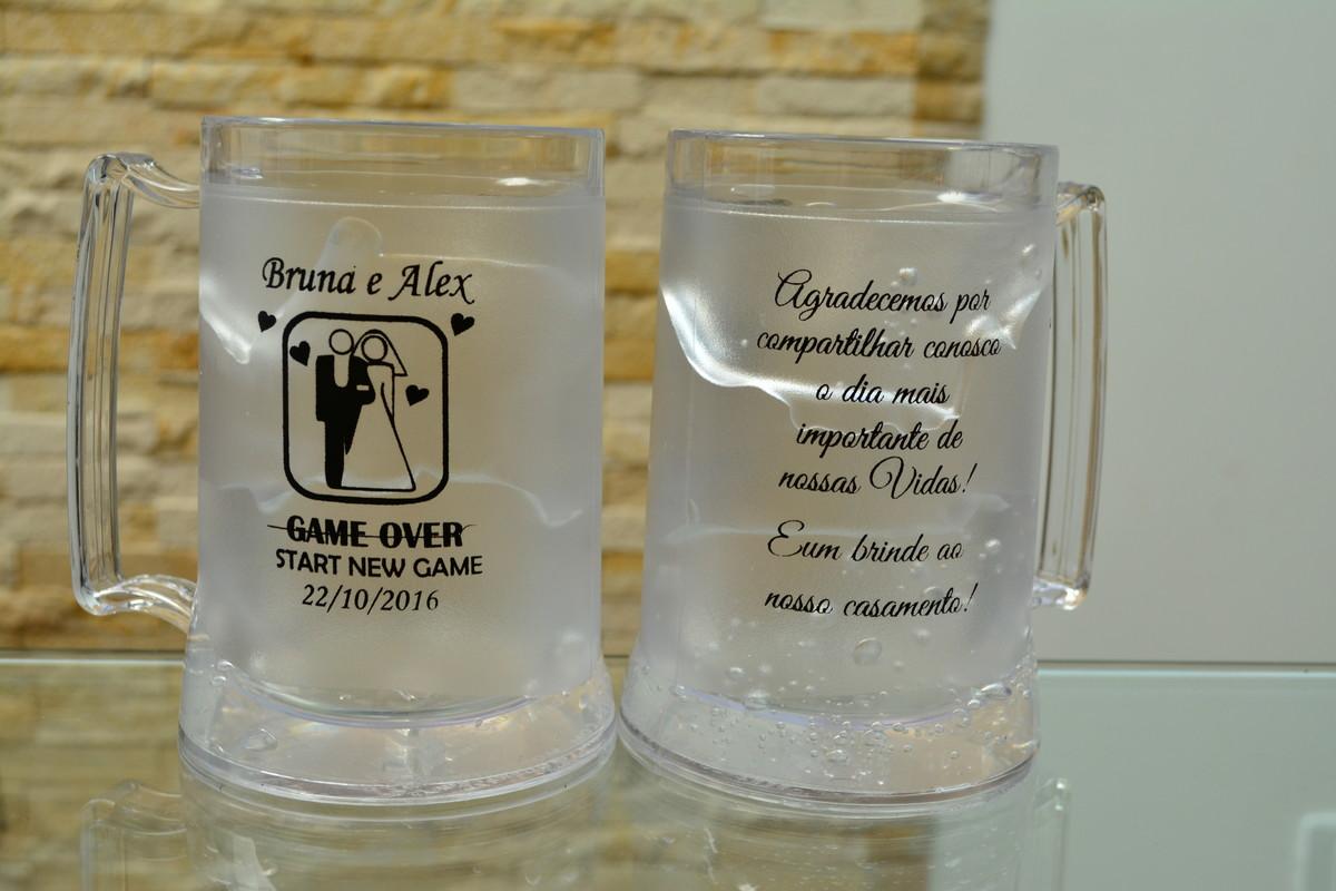011774cb1 Caneca Chopp Cerveja Gel Congelante 450ml Personalizadas no Elo7 ...