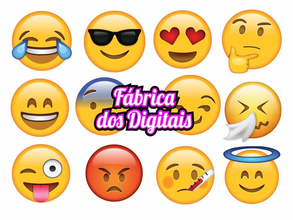 Kit Digital - Emoticons Whatsapp No Elo7