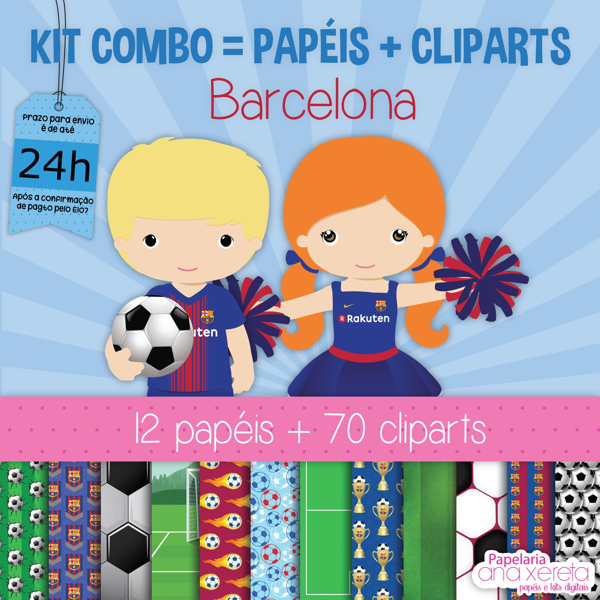 Kit Digital Completo TIMES EUROPEUS 1 no Elo7  24a3a722676a8