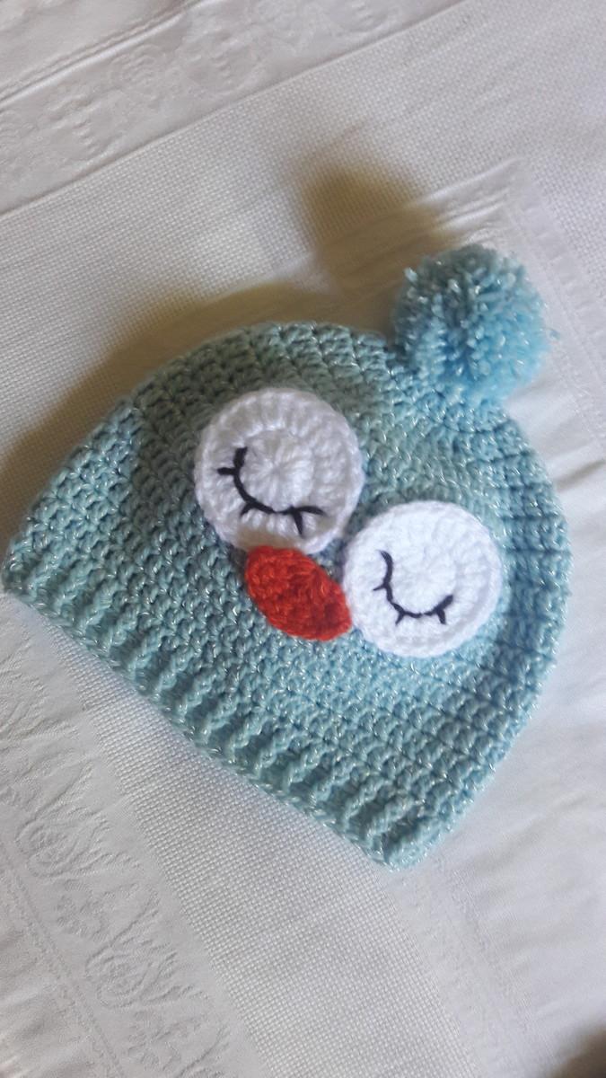 Pague 3 Leve 4 Touca de Croche corujinha baby preço unit. no Elo7 ... 6c9442889e2