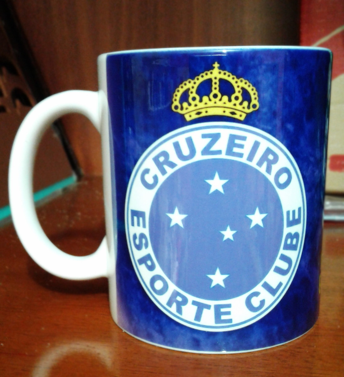532fa548894d7 Caneca Cruzeiro Esporte Clube com nome Raposa no Elo7