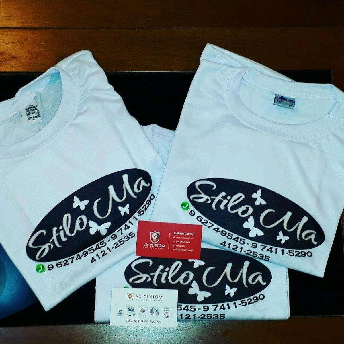 Camiseta Uniforme para Salão de Beleza no Elo7  233c3d97f97