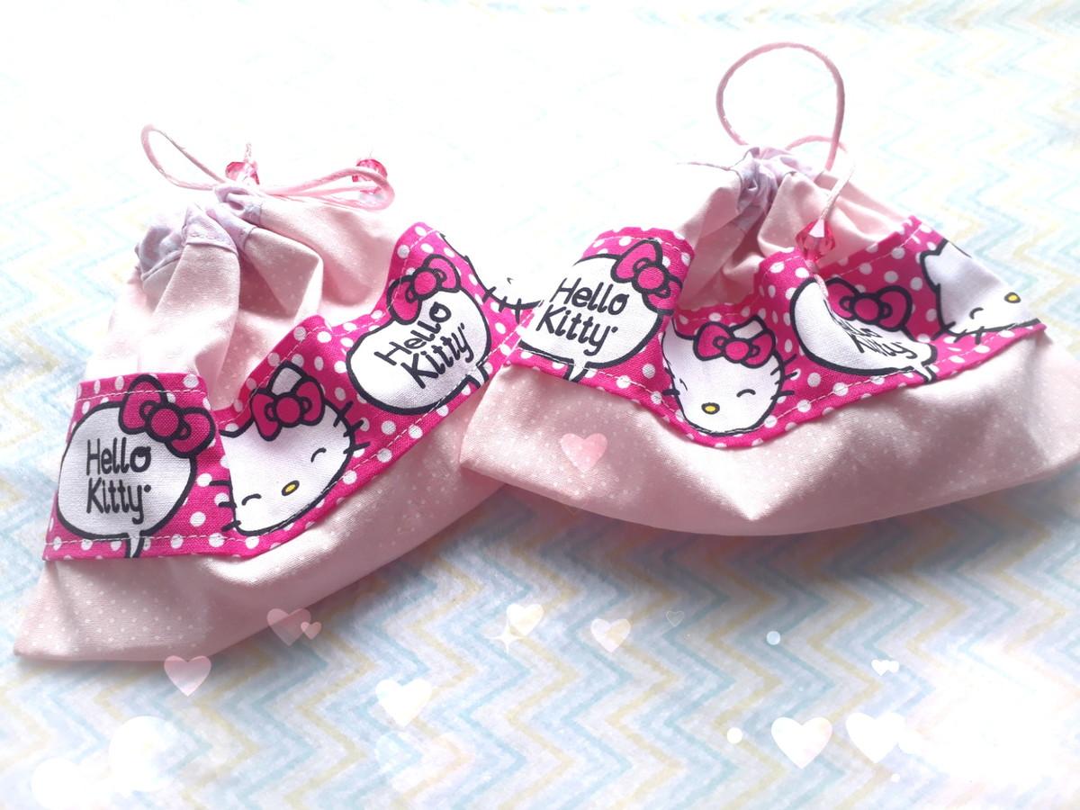 1cca3dfcbb Porta Chupeta Hello Kitty no Elo7