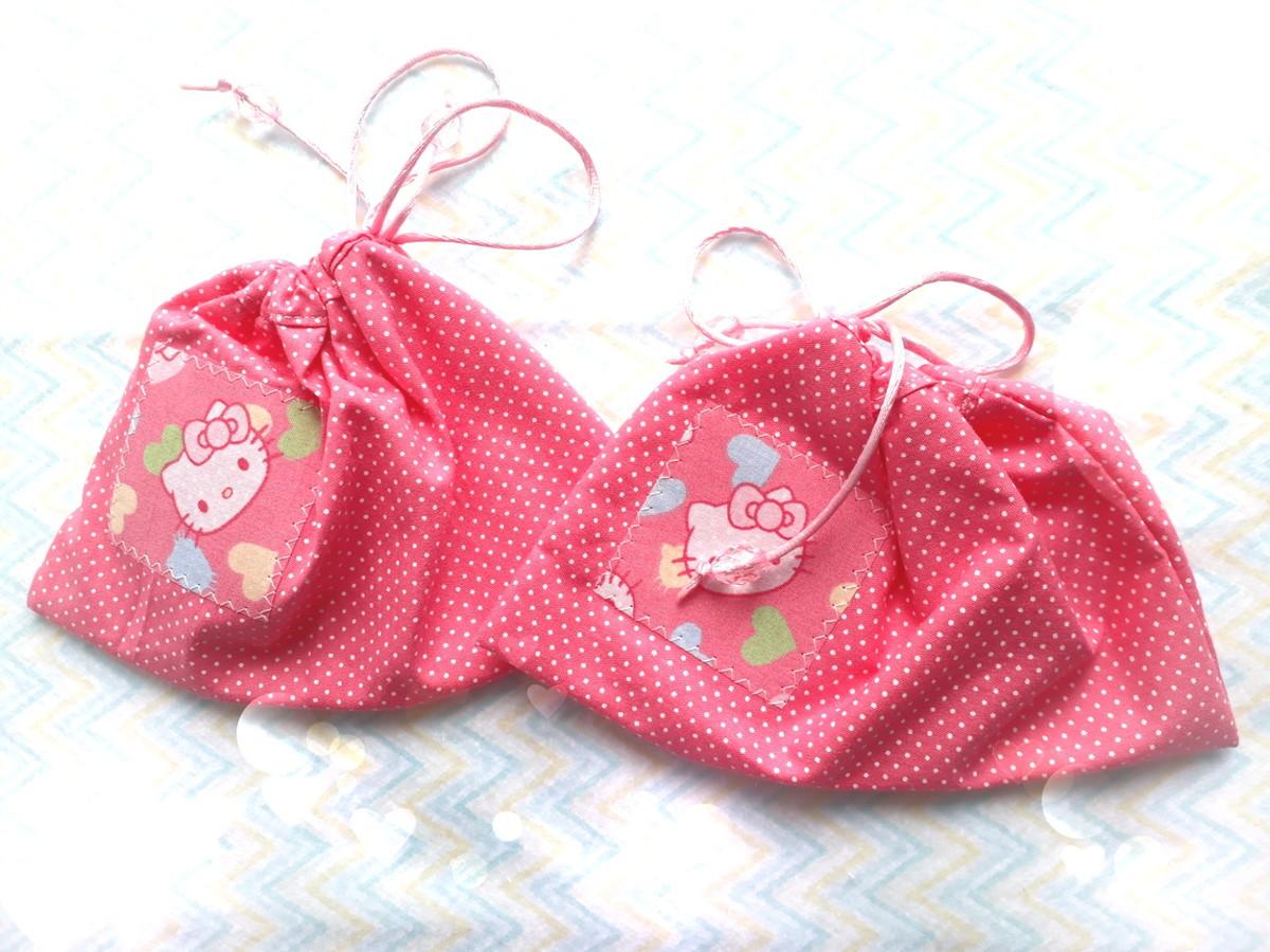 d9eab9240e Porta Chupeta Hello Kitty 2 no Elo7