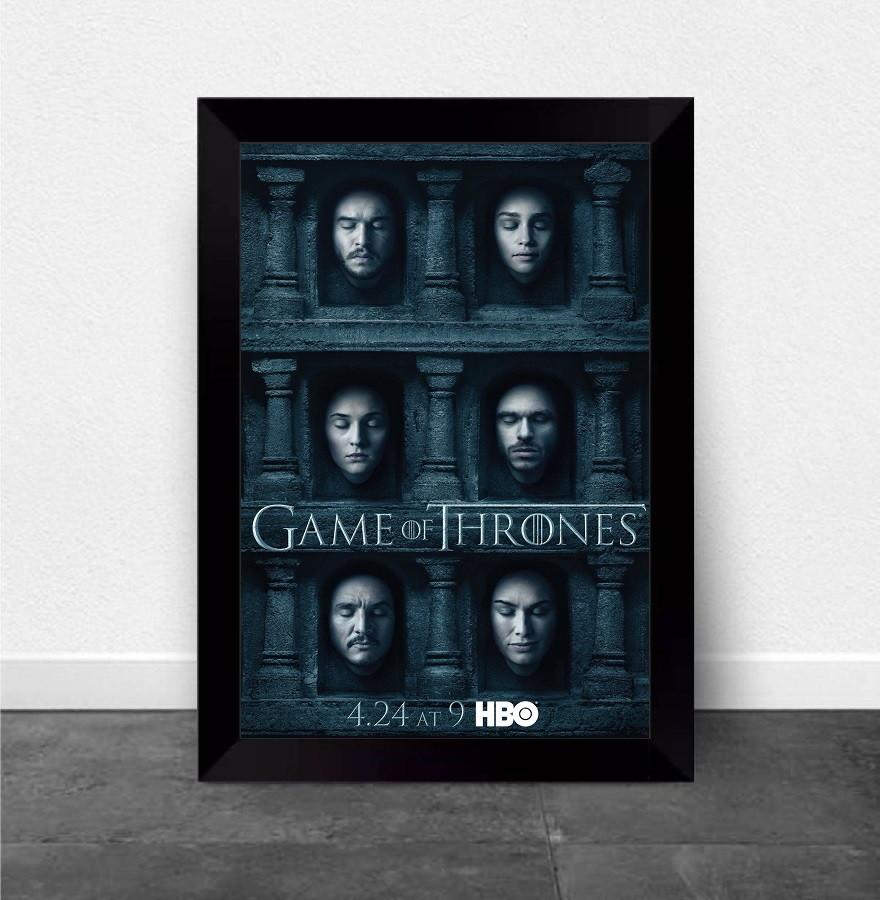 Quadros Poster Com Moldura Game Of Thrones 6 Temporada No Elo7 Atelier De Posters B2f2af