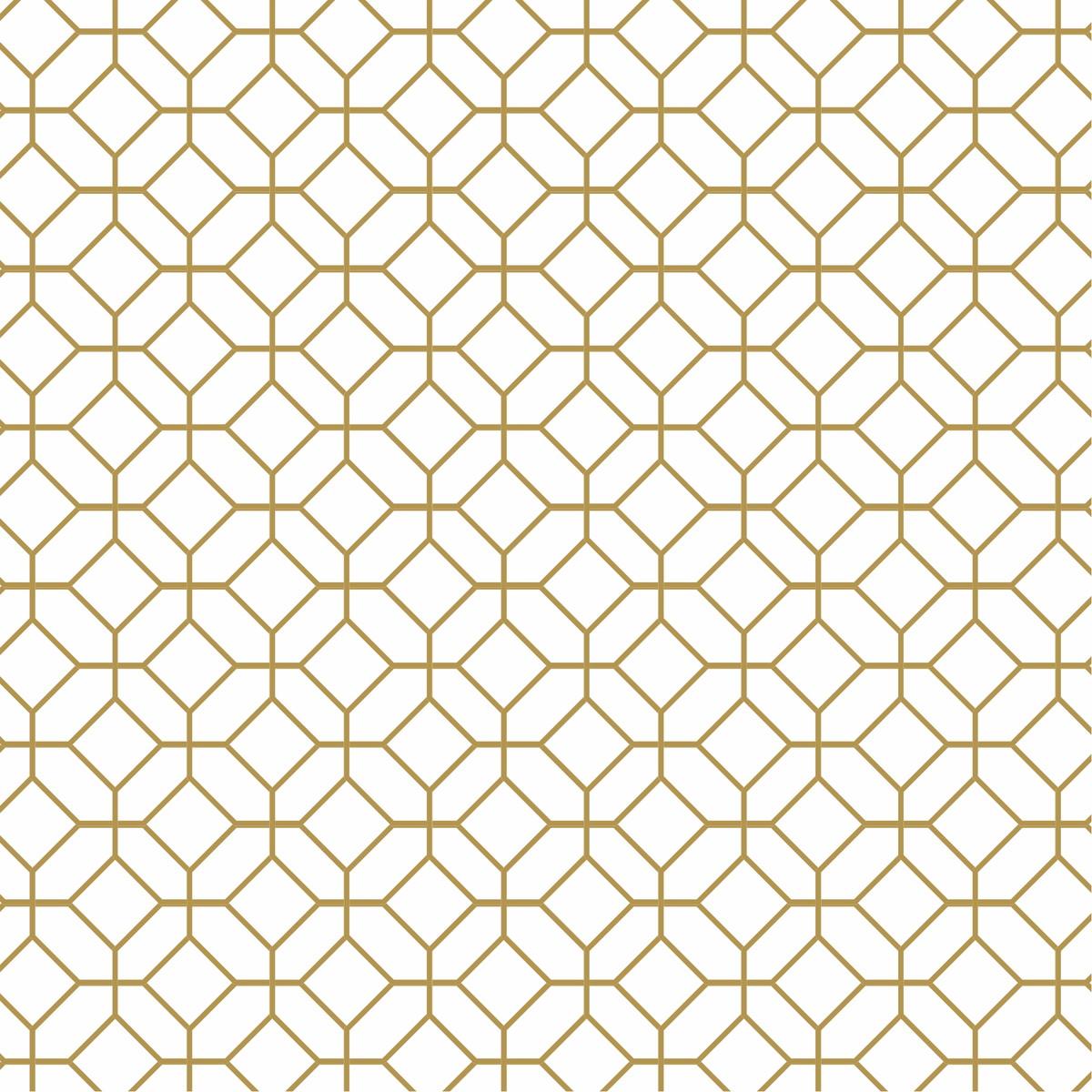 Adesivo papel de parede geom trico dourado escolha a cor for Papel para paredes salon