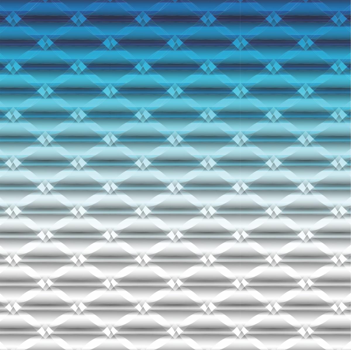Papel De Parede Adesivo Ou Cola ~ Adesivo Papel de Parede Geométrico Azul Degrad u00ea Cola Mais Adesivos Elo7