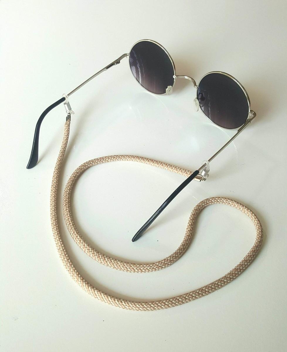 Salva Óculos (Bege) no Elo7   Anellus Acessórios (B315FC) 34f230ea16
