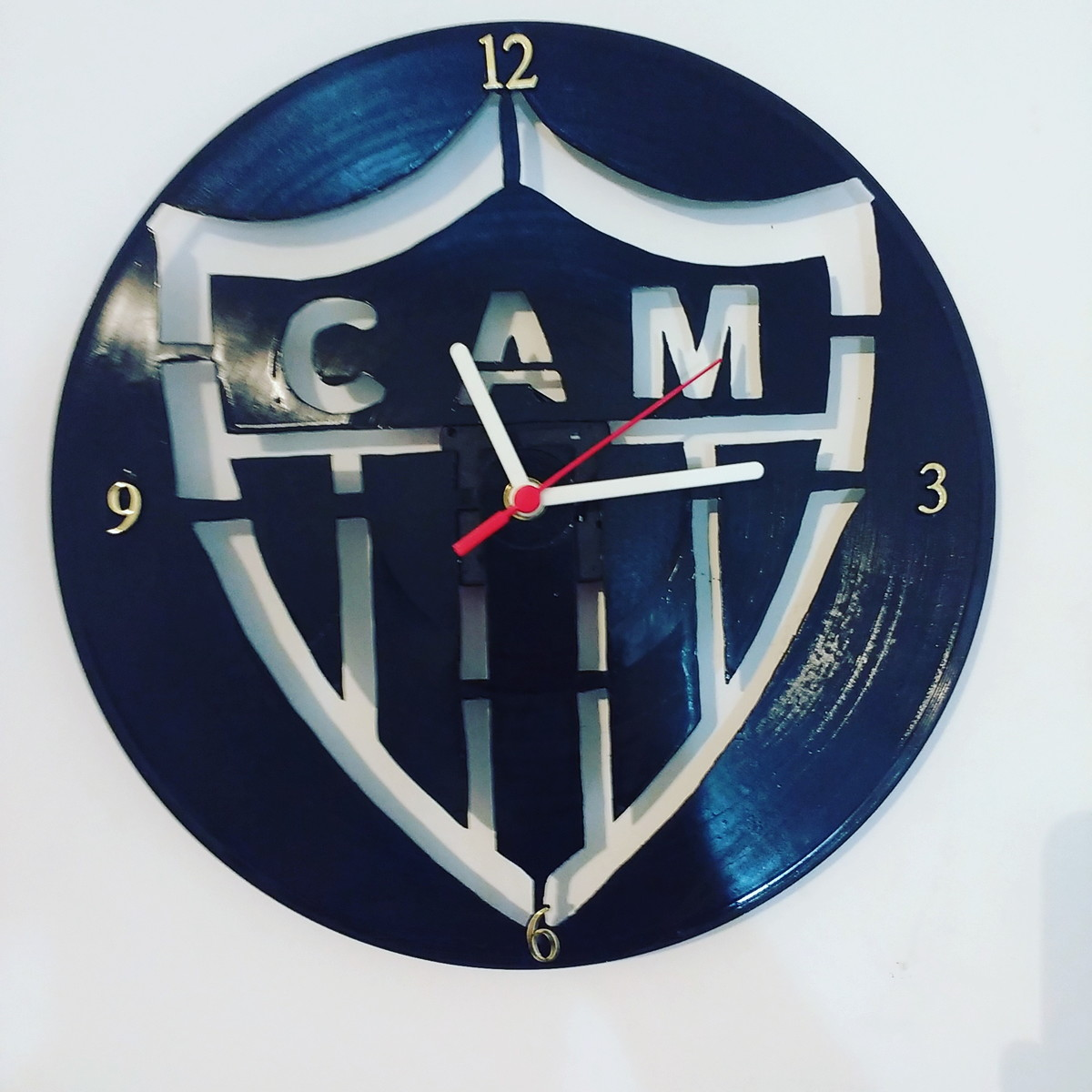 a437f65c8aa Relógio Vintage - Futebol brasileiro - Atlético-MG no Elo7