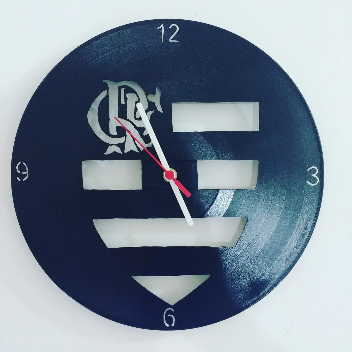 a1e9f6bfa22 Relógio Vintage - Futebol brasileiro - Flamengo no Elo7